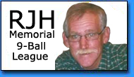 Ronnie Holley Memorial 9-Ball League